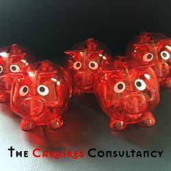 Oink…the Caraires piggy-banks are out!